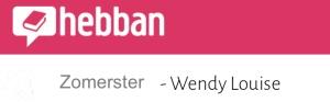 Zomerster, Hebban, Wendy Louise, Seizoenenserie, boeken kopen, boeken bestellen, boekrecensie, Kobo, Kobo Exclusive