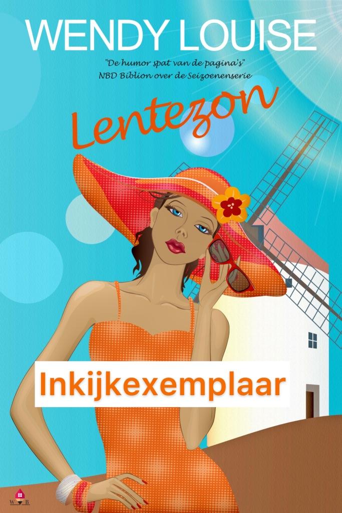 Lentezon, Wendy Louise, Seizoenenserie, Uitgeverij Wens Boeken, Kobo Exclusive