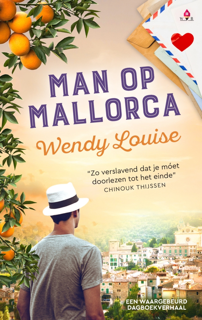 Man op Mallorca, Wendy Louise, paperflip, Mallorca, Chinouk Thijssen